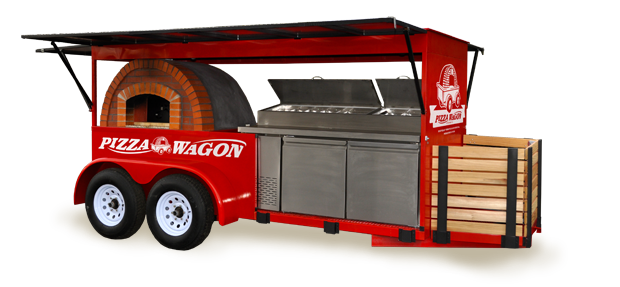 Food Cart Usa Custom Made Food Trucks About Pizza Wagon Catering. Brick Oven Pizza Made Onsite For Your ...